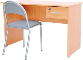 Vigo-bureau met 1 lade - beuken