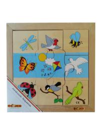 Puzzel vliegende dieren