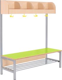 Flexi garderobe 4, zithoogte 26 cm - groen