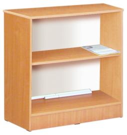 Expo lage boekenkast - beuken