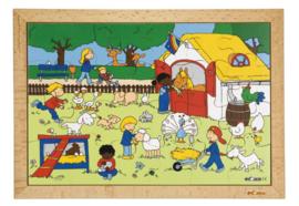 Puzzel kinderboerderij 24 dlg.