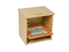 Puzzelkast voor puzzels 24 x 24 cm.