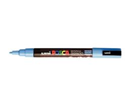 Verfstift Posca fijne punt 0.9 - 1.3 mm. hemelsblauw