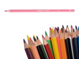 12 kleurpotloden Bruynzeel zuurstokroze 971