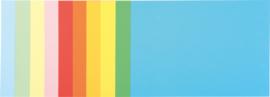 Technisch tekenblok A4, kleurrijk