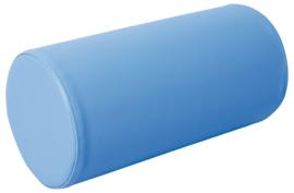 Foam cilinder 40 cm. - blauw