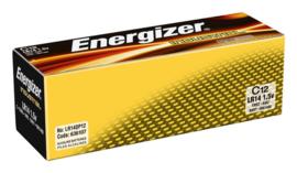 Batterij Industrial C alkaline doos à 12 stuks
