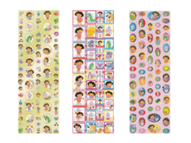 Stickers Dora assortiment