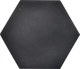 Geluiddempende zeshoek - antraciet, 40 mm