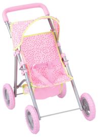Kinderwagen met mand met accessoires