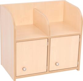 Garderobe kast Flexi 2 met deuren