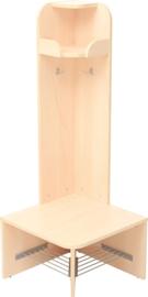 Mariposa garderobe - buitenhoek, laag