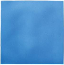 Geluiddempend vierkant - babyblauw, 50 mm