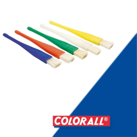 1x Colorall plastic kwastje