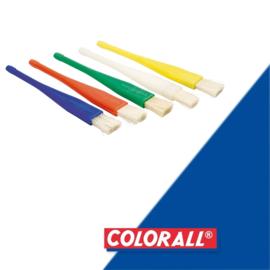 Lijmkwast  colorall  100mm plastic