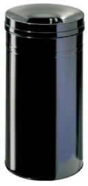 Papierbak met vlamdover Durable 3327 60 liter zwart