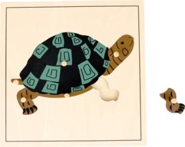Noppen puzzel schildpad