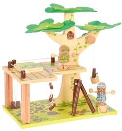 Boomhut - bouwen met plezier