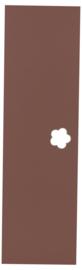 Deur voor garderobe Mariposa bruin