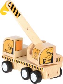 Mini houten kraan