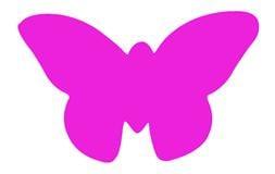 Plakfiguur - Vlinder 400st assorti