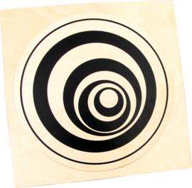 Manipulerende elementen voor frame - Gedraaide cirkel