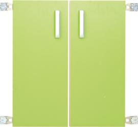 Deur voor niveau verhoger M (092818) - groen