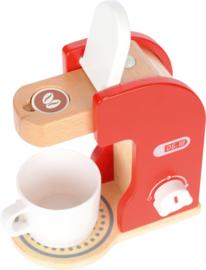 Koffiezetapparaat 18,5x10,8x19,5cm Senseo hout