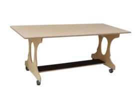 Hoogzit tafel 180x64x73cm - berken