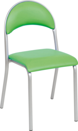 Jay stoel gestoffeerd - groen
