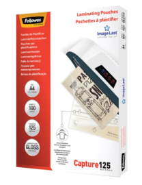 Lamineerhoes Fellowes A4 2x125micron 100stuks