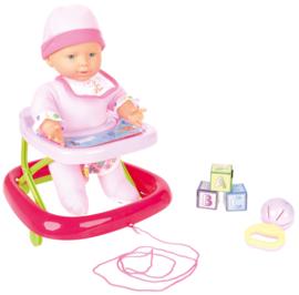 Baby in loopwagen