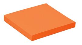 Memoblaadjes Quantore 76x76mm neon oranje