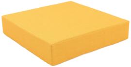Quadro matras geel, hoogte 15 cm