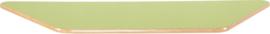 Trapezium Flexi tafelblad 150,5x80x80cm groen los