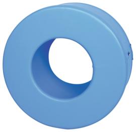 Foam cirkel  60x30cm - Blauw