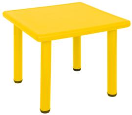 Dumi vierkante tafel - geel