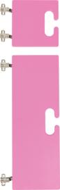 Kleine en grote deur voor kameleon garderobe - roze