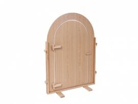 Scheidingswand met deur