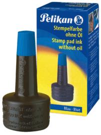 Stempelinkt Pelikan flacon 28ml blauw