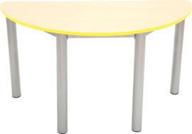 Premium halfronde tafelblad - geel