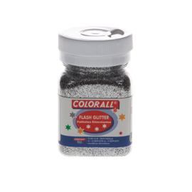 Glitter Colorall zilver 95 gram