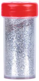Glitter - zilver