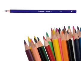 12 kleurpotloden Bruynzeel paars 953