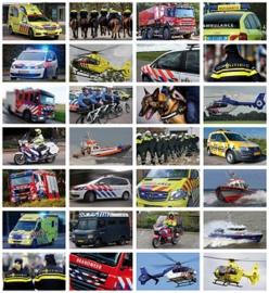 Stickers hulpdiensten - serie 107