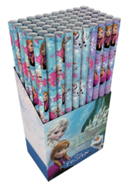 60 rol Inpakpapier Hoomark Frozen Olaf 200x70cm assorti