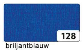 Crepepapier  250x50cm nr128 briljantblauw