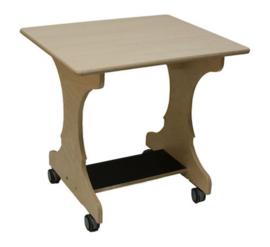Hoogzit tafel 75x64x73 cm - berken