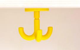 Garderobe hanger Flexi / Quadro, geel