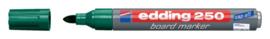 Viltstift edding 250 whiteboard rond groen 1.5-3mm